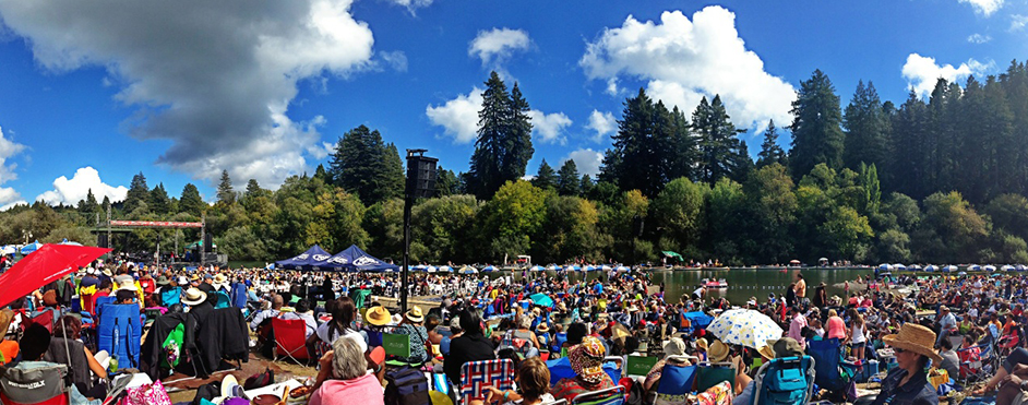 Join us for the 40th Annual Russian River Jazz & Blues Festival!
